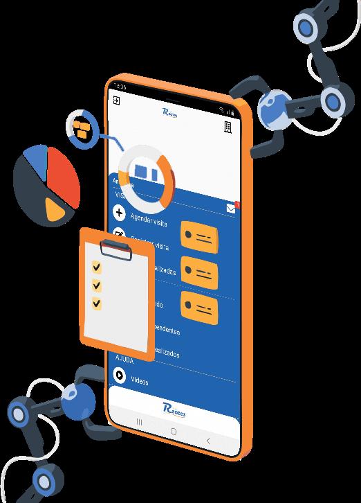 Aplicativo de Controle de Visita Técnica e Comercial
